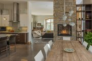 Contemporary Style House Plan - 3 Beds 3.5 Baths 3620 Sq/Ft Plan #1042-21 Interior - Dining Room