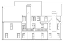 Dream House Plan - Traditional Exterior - Rear Elevation Plan #419-102