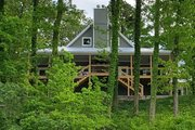 Cabin Style House Plan - 2 Beds 2 Baths 1727 Sq/Ft Plan #137-295