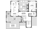 Contemporary Style House Plan - 4 Beds 4.5 Baths 4159 Sq/Ft Plan #928-352