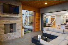 Contemporary Exterior - Outdoor Living Plan #48-651