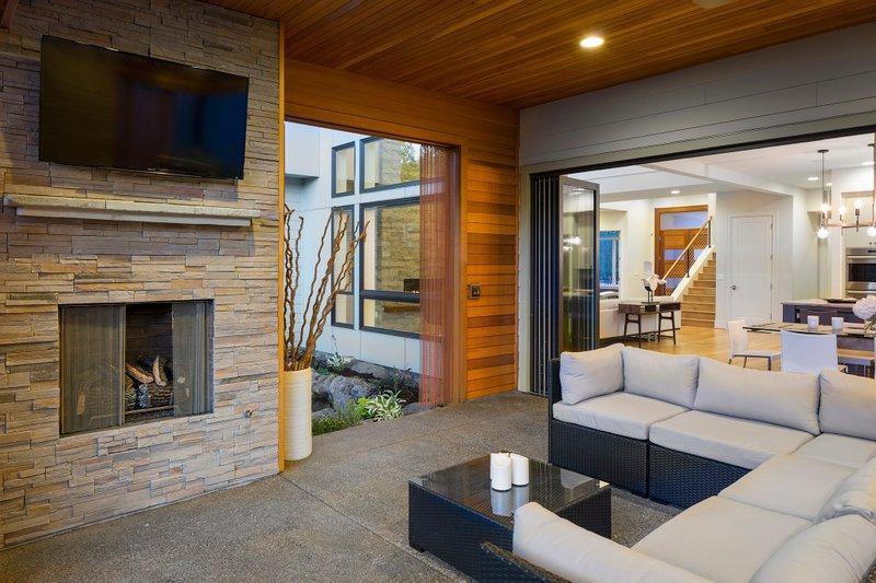 Contemporary Exterior - Outdoor Living Plan #48-651 - Houseplans.com