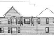 Traditional Style House Plan - 3 Beds 2.5 Baths 2623 Sq/Ft Plan #31-102 Exterior - Rear Elevation
