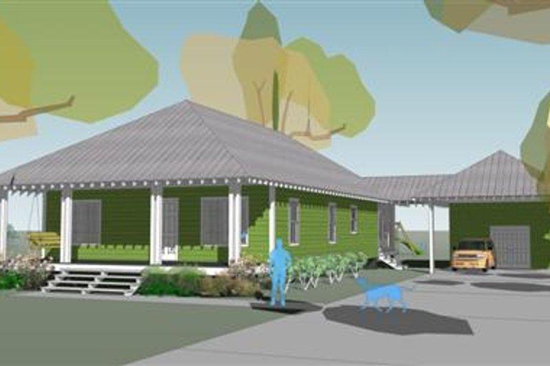 Beach Style House Plan - 3 Beds 2.5 Baths 1699 Sq/Ft Plan #460-5