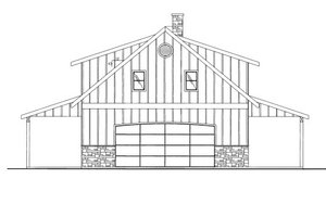 Country Exterior - Front Elevation Plan #117-687