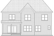 Dream House Plan - Tudor Exterior - Rear Elevation Plan #413-135
