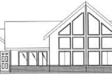 Dream House Plan - Traditional Exterior - Rear Elevation Plan #117-279
