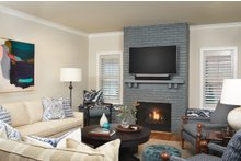 Traditional Interior - Family Room Plan #928-349