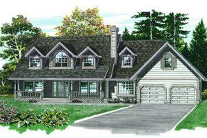 Traditional Exterior - Front Elevation Plan #47-273