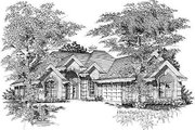 Cottage Style House Plan - 2 Beds 2 Baths 1943 Sq/Ft Plan #329-229 Exterior - Front Elevation