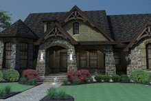 Craftsman Exterior - Front Elevation Plan #120-165