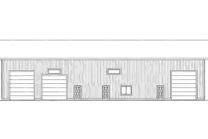 Traditional Exterior - Front Elevation Plan #117-655
