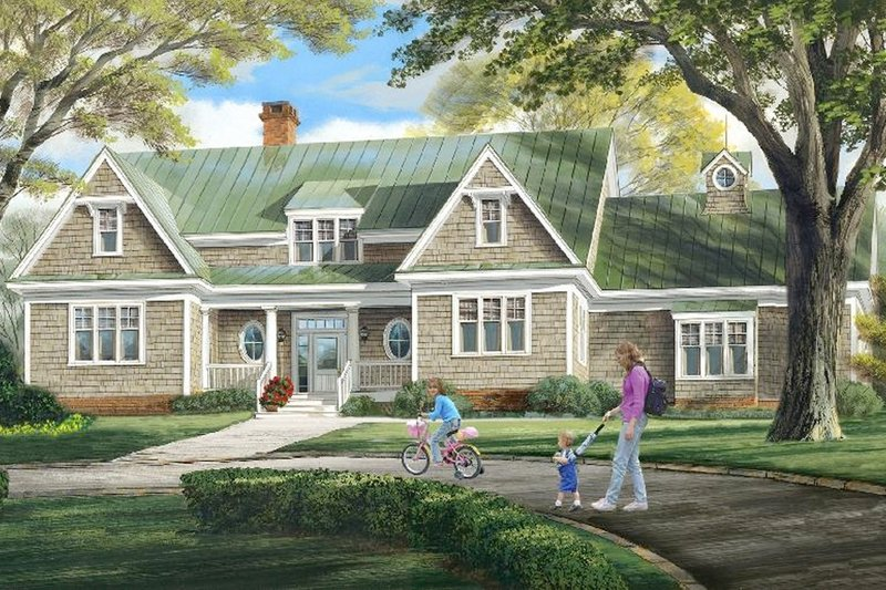 Dream House Plan - 4200 square foot 4 bedroom 3 bath country house plan