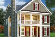 Home Plan Design - Southern Exterior - Front Elevation Plan #419-151