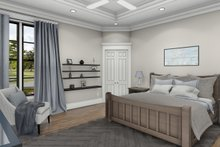 Dream House Plan - Cottage Interior - Master Bedroom Plan #406-9656