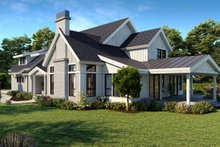 Dream House Plan - Farmhouse Exterior - Other Elevation Plan #1070-113
