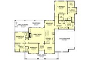 Farmhouse Style House Plan - 3 Beds 2.5 Baths 1993 Sq/Ft Plan #430-163 Floor Plan - Main Floor Plan
