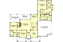 Farmhouse Floor Plan - Main Floor Plan Plan #430-163