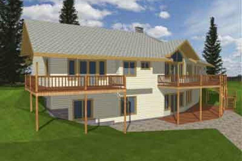 Traditional Exterior - Front Elevation Plan #117-166 - Houseplans.com