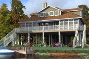 Beach Style House Plan - 3 Beds 3.5 Baths 2327 Sq/Ft Plan #63-355