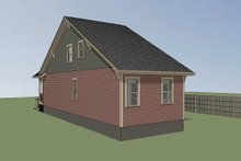 Dream House Plan - Bungalow Exterior - Rear Elevation Plan #79-312