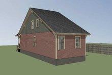 House Plan Design - Bungalow Exterior - Rear Elevation Plan #79-312