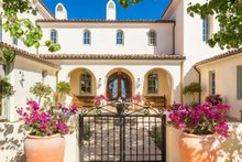 Architectural House Design - Mediterranean Exterior - Front Elevation Plan #484-8