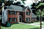 Farmhouse Style House Plan - 3 Beds 2.5 Baths 2157 Sq/Ft Plan #56-153 Exterior - Other Elevation