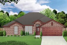 Home Plan - Traditional Exterior - Front Elevation Plan #84-553