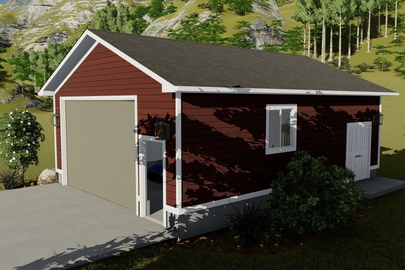 Dream House Plan - Traditional Exterior - Other Elevation Plan #1060-92