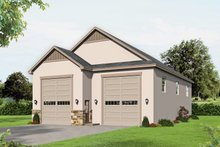 Dream House Plan - Contemporary Exterior - Front Elevation Plan #932-338