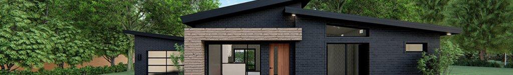 Single Story Modern House Plans, Floor Plans & Designs
