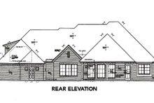Dream House Plan - European Exterior - Rear Elevation Plan #310-654