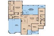 Craftsman Style House Plan - 3 Beds 3.5 Baths 2199 Sq/Ft Plan #923-65
