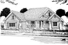 Home Plan Design - Traditional Exterior - Other Elevation Plan #513-2045