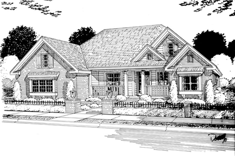 Traditional Exterior - Other Elevation Plan #513-2045 - Houseplans.com