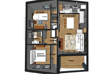 3-D Interior