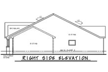 House Plan Design - Farmhouse Exterior - Other Elevation Plan #20-2446