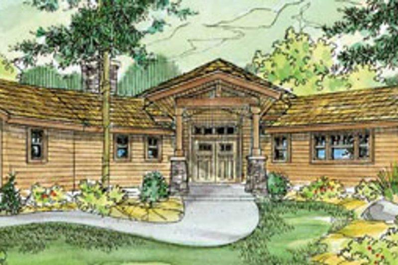 Craftsman Exterior - Front Elevation Plan #124-730