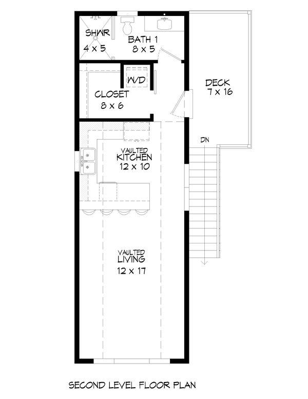 Country Floor Plan - Upper Floor Plan Plan #932-291