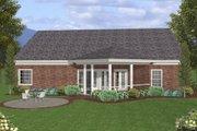Southern Style House Plan - 3 Beds 2.5 Baths 1831 Sq/Ft Plan #56-580
