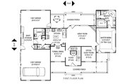 Farmhouse Style House Plan - 4 Beds 2.5 Baths 2305 Sq/Ft Plan #11-227 Floor Plan - Main Floor