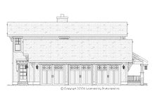 Craftsman Exterior - Other Elevation Plan #901-67