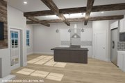 Country Style House Plan - 4 Beds 3 Baths 3757 Sq/Ft Plan #930-514