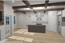Country Interior - Kitchen Plan #930-514