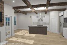 Dream House Plan - Country Interior - Kitchen Plan #930-514