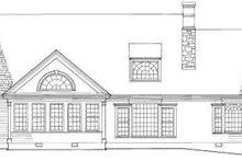 Traditional Exterior - Rear Elevation Plan #137-213
