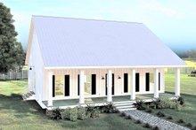 Dream House Plan - Farmhouse Exterior - Front Elevation Plan #44-233