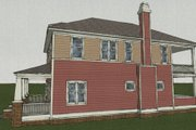 Craftsman Style House Plan - 4 Beds 3.5 Baths 2520 Sq/Ft Plan #461-2 Exterior - Other Elevation