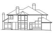 Craftsman Style House Plan - 3 Beds 3 Baths 2972 Sq/Ft Plan #515-23